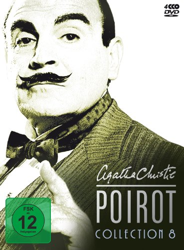 Agatha Christie - Poirot Collection 08 [4 DVDs]