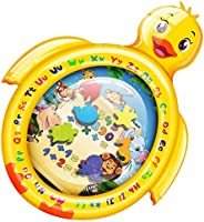 PEFECEVE Tummy Time Baby Water Play Mat, Duck Toy Mat for In