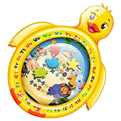 Amazon - Save 50%: PEFECEVE Tummy Time Baby Water Play Mat, Duck Toy Mat for Infant, Baby,…