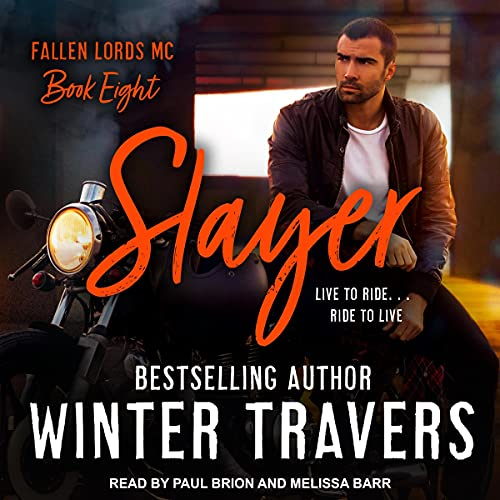 Slayer Audiobook By Winter Travers cover art
