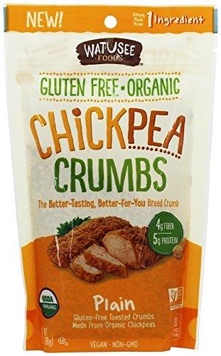 "Watusee Foods, Organic Chickpeato ""Breadcrumbs"", 7 oz"
