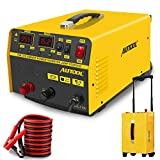 EM315 12V/24V Car Jump Starter 400A Vehicle Battery Charger Adapter 20A Lead-Acid Batteries Charging Devices for All Car,Motorcycle,Lawn Mower,Boat RV,SUV,ATV (up to All Gas and Diesel Engine)