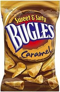 BUGLES CORN CHIPS SWEET & SALTY CARAMEL 6 OZ BAG
