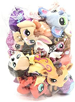 btbt LPS Kid Toy LPS cat and Dogs 10 pcs Sparkle Spectacular Collection Pack Toy lot Mini Pet Shop Toys Rare Original Figure Animal,Compatible for lps Collection
