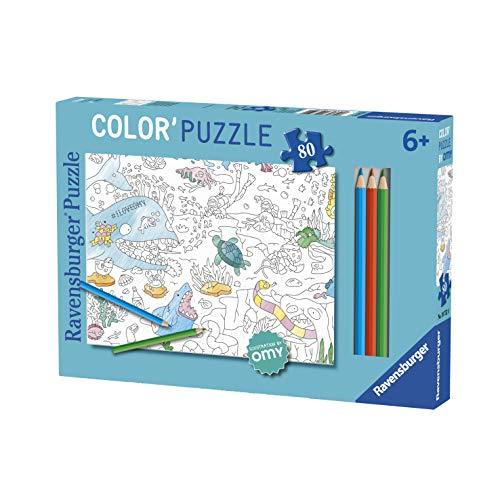 Ravensburger - Super 100 Puzzle - Janosch: Schön ist es am Fluß, 100 Teile