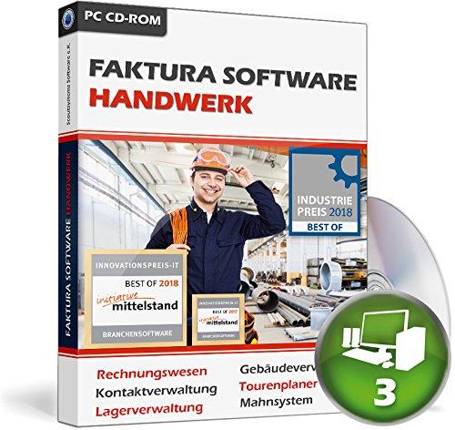 Faktura Software Handwerk - Rechnungsprogramm Netzwerk 3 PCs
