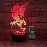 Control Remoto o Control de Interruptor táctil luz Nocturna luz de bebé lámpara de Mesa luz de Color Ambiente luz de Dormitorio