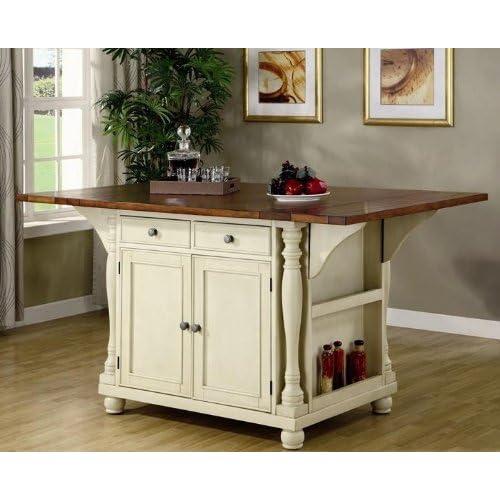Island Kitchen Table: Amazon.com
