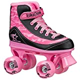 FireStar Youth Girl's Roller Skate (Pink Camo, 1)