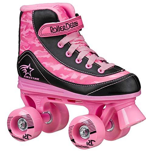 FireStar Youth Girl's Roller Skate Pink Camo