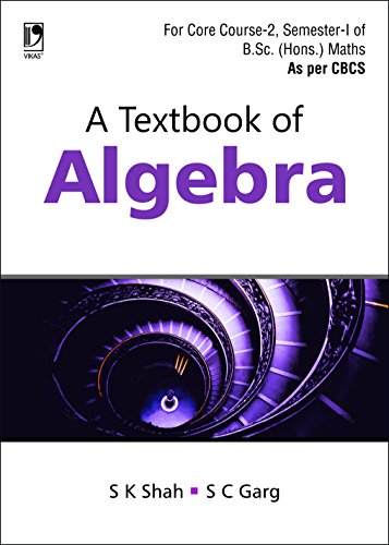 A Textbook of Algebra (English Edition)