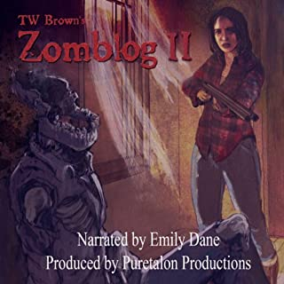 Zomblog II audiobook cover art