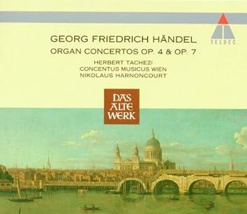 Handel : Organ Concertos Op.4 & Op.7
