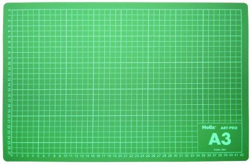 Helix Art-Pro - Vade de corte (A3, PVC), verde