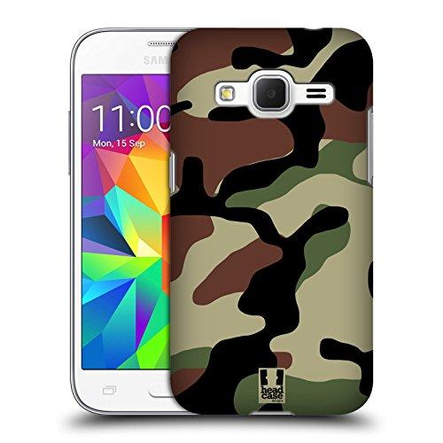 Head Case Designs Bosco Fantasia Militare Cover Dura per Parte Posteriore Compatibile con Samsung Galaxy Core Prime