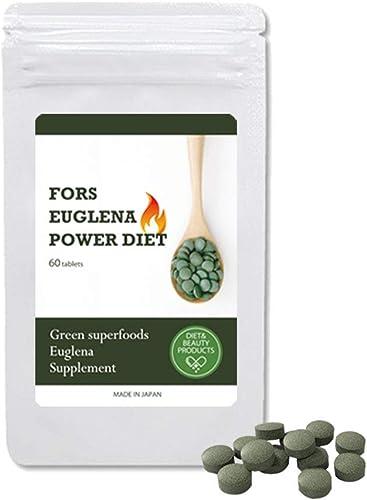 フォルスユーグレナパワーダイエット60粒 約2か月分 日本製 ミドリムシ フォルスコリ クロレラ 乳酸菌 プラセンタ product image