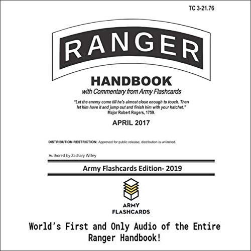 Ranger Handbook: Updated with Commentary from Army Flashcards
