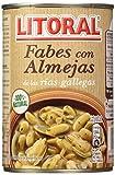 Litoral Fabes con Almejas - Paquete de 10 x 440 g - Total: 4.4 Kg