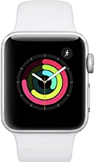Apple Watch Series 3 GPS, 38mm Silver Aluminium Case