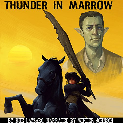 Thunder in Marrow audiobook cover art