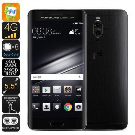 Huawei Mate 9Porsche Smartphone–Android 7.0, Octa-Core CPU, 6GB di RAM, doppia fotocamera da 20MP, 2560x 1440P, dual-imei, 4G