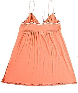 IngerT Women's Lace Modal Nightwear Lingerie Sexy Babydoll Sleep Dress Home Wear, Free Size