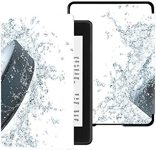 Kindle Paperwhite Case Lustige Hockey Puck Cases für Kindle Paperwhite 2018 Case mit Auto Wake/Sleep Case Kindle Paperwhite 10. Generation 2018