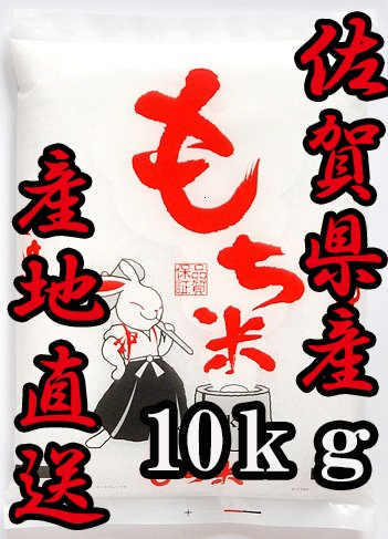 令和2年産 佐賀県産 ひよくもち 10kg 【ヒヨクモチ】