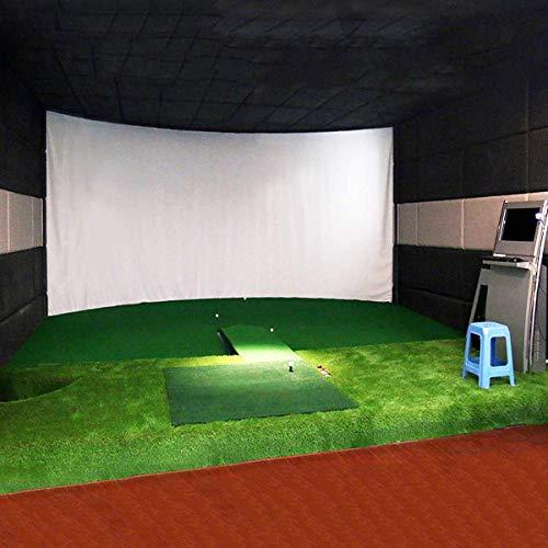 SISHUINIANHUA 300X200CM la Pelota de Golf Entrenamiento Simulador de Impacto Pantalla de proyección Cubierta de Tela Blanca del Material En Ejercicio del Golf Golf Targe