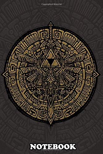 Notebook: Inspired By The Video Game Zelda , Journal for Writing, College Ruled Size 6