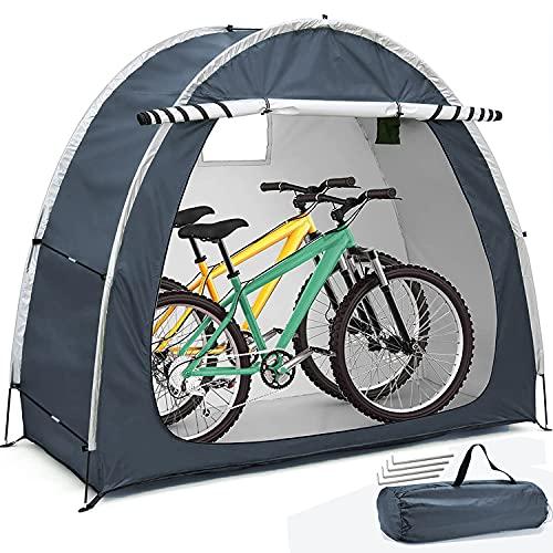 HERAHQ Nueva actualización al Aire Libre cobertizo, 210D Cubierta rta de la Bicicleta a Prueba de in