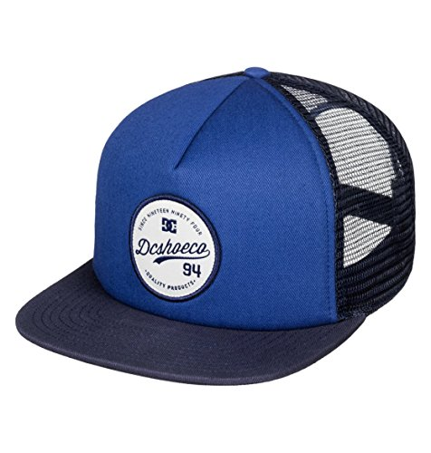 DC Shoes Men's Schmades Trucker Hat, Gorra Ajustable, Talla...