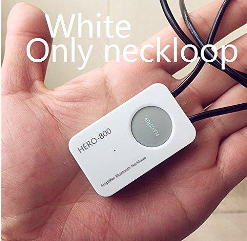 HERO-800 - Amplificador Profesional Bluetooth de 4,5 W (Puede Trabajar con imán) con Mini Auricular inalámbrico Invisible A780 A680 Spy