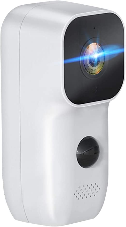 Webcam 1080p,CáMara de Vigilancia InaláMbrica,Camara Vigilancia Wifi,IP66 Impermeable,En Espera Durante 3-5 Meses,Bajo Consumo de EnergíA,Intercomunicador Bidireccional,MultifuncióN,Smart Home