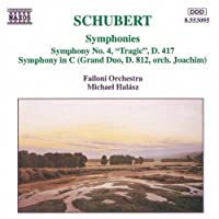 Symphonies 4 by SCHUBERT (1996-01-04)
