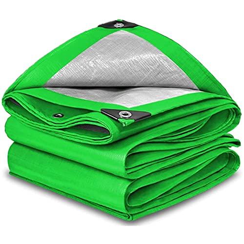 MWXFYWW Cubierta de Lona, Lona de Polietileno Multiusos, Carpa con Dosel, Resistente Cubierta Plegable a Prueba de Lluvia para Cubrir Muebles de Jardín Protección Rayos UV(Color:A;Size:4x6m)