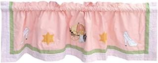 Patch Magic Fairy Tale Princess Curtain Valance, 54-Inch by 16-Inch