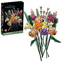 """Das LEGO Bauset """"Blumenstrauß"""" (10280) ist ein besonderes Geschenk und ein anspruchsvolles Bauprojekt, um aus LEGO Steinen einen faszinierenden Blumenschmuck entstehen zu lassen. Hinweis: Es ist keine Vase enthalten Dieser Blumenstrauß begeistert mit..."""