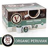 Organic Peruvian for K-Cup Keurig 2.0 Brewers, 80 Count Victor Allen's Coffee Medium Roast Single Serve Coffee Pods