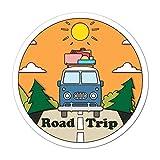 Road Trip Car Sticker Decal Van Adventure Hippie Explore Sunset Aussie Trip