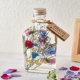 日比谷花壇 ディズニー ハーバリウム Healing Bottle Disney collection「ドナルド&デイジー」【沖縄届不可】