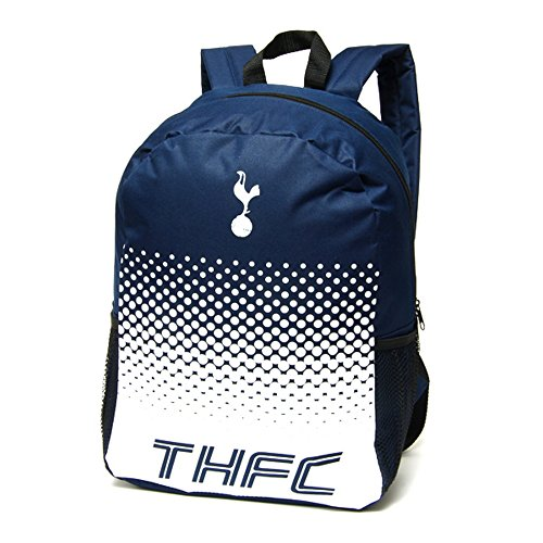 Tottenham Hotspur FC Official Fade Football Crest Backpack/Rucksack (One Size) (Navy/White)