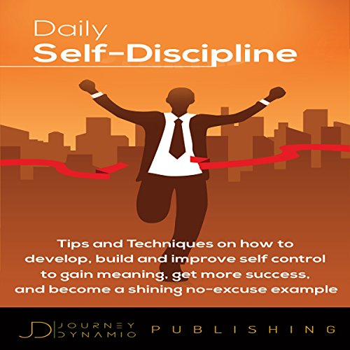 Daily Self Discipline audiobook cover art