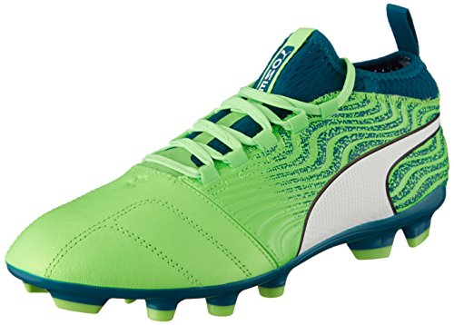 PUMA ONE 18.3 HG Men's Soccer Cleats Hard Ground-Green-8