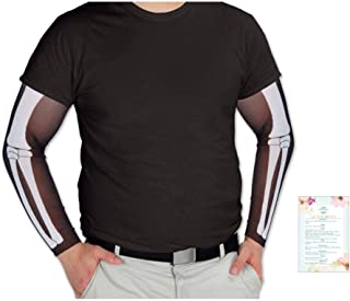 Beistle Skeleton Party Sleeves Accessory 2 Pieces (with Party Planning Checklist) One Size fits Most 19
