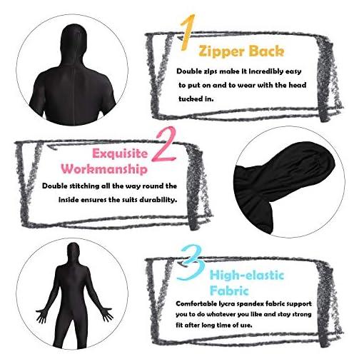 Timein Spandex Suit Full Body Suit, Men/Women Zentai Suit