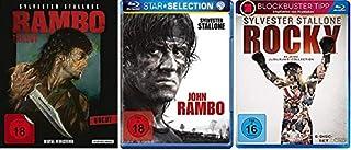 Rambo 1-4 + Rocky 1-6 [Blu-ray Set] Best of Sylvester Stallone Paket