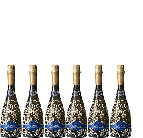 6 bottiglie per 0,75l -AKÈNTA SUBACQUEO - SPUMANTE DI VERMENTINO DI SARDEGNA DOC (BOTTIGLIA 75 CL)