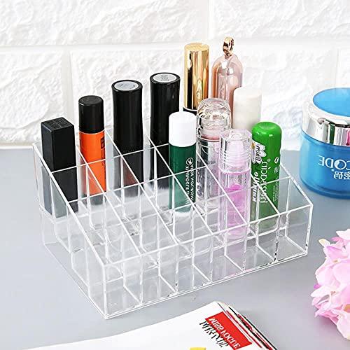 Caja de almacenamiento de plástico para maquillaje y baño, organizador de cosméticos, escritorio para maquillaje, joyas, caja de almacenamiento de mesa, organizador de contenedores, 1 unidad