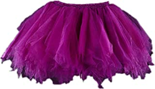 Girls Tutu Skirts Layered Tulle Princess Dresses Sparkle Halloween Tutu
